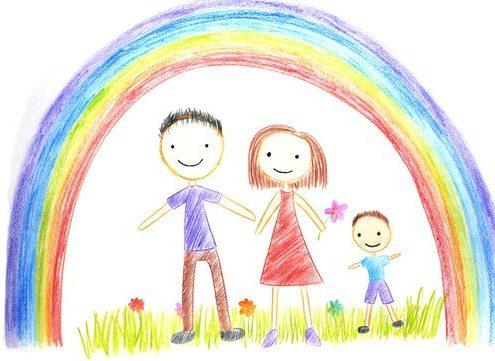 """Арт терапия. Рисунък """"Моето семейство"""""""