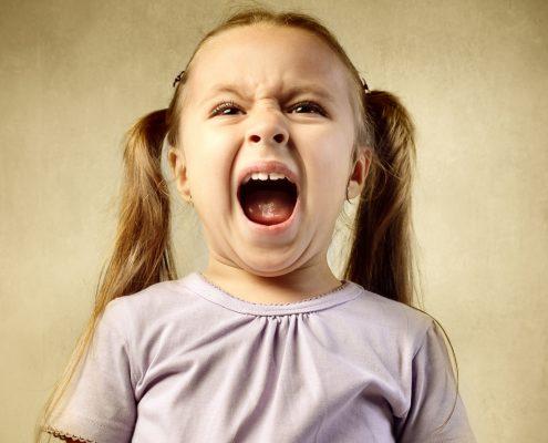 4 стъпки за овладяване на детската истерия